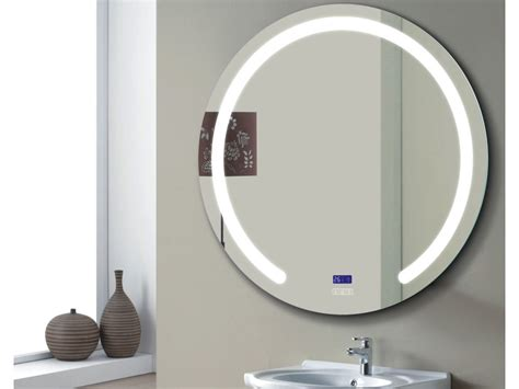 oglinda rotunda iluminare led  sistem dezaburire cm
