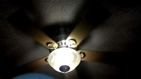 hunter stratford ceiling fan hunter stratford ii remote control ceiling fan speed test