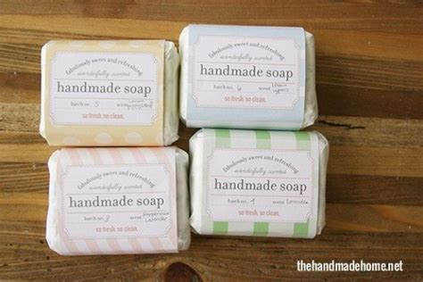 Handmade Soap Labels - 50 best free printables for craft projects diy