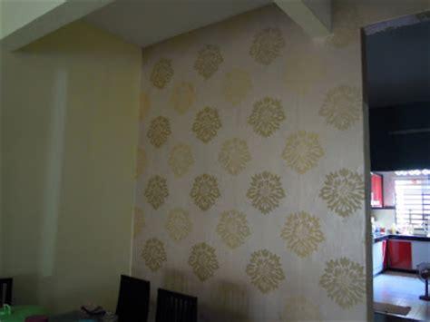 cara memasang wallpaper dinding murah aku dayat d i y pasang wallpaper sendiri