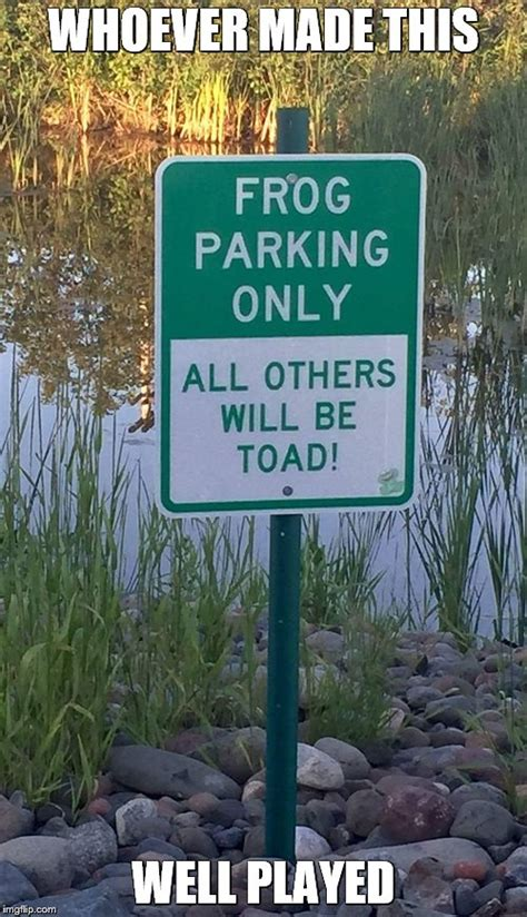 Bad Parking Meme - frog parking imgflip
