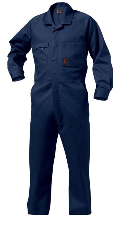 Overall By Navy king gee combination drill overall navy workwear