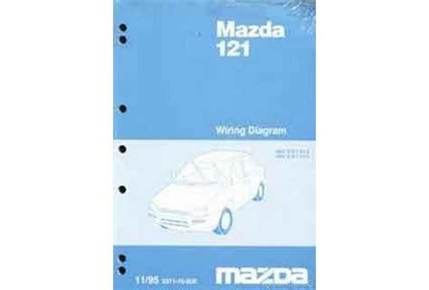 mazda 121 metro workshop manual mazda 121 db wiring diagram efcaviation