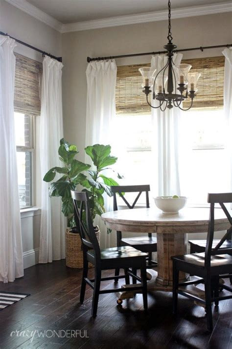 window treatments for dining rooms 25 best ideas about breakfast nook curtains on