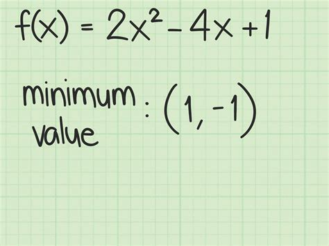How To Find Of 3 Ways To Find The Maximum Or Minimum Value Of A Quadratic