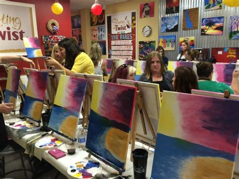 paint with a twist newark painting with a twist in suburban plaza newark de