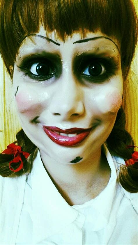 annabelle doll halloween makeup 34 best images about my crazy makeup on pinterest silent