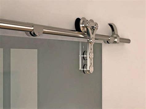 6 6 Ft Modern Stainless Steel Interior Sliding Barn Glass Modern Barn Door Hardware Stainless