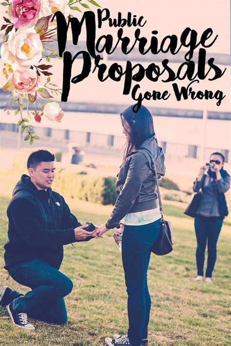 24 best Wedding Proposal Fails images on Pinterest