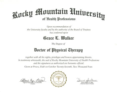 therapy registration doctor of physical therapy