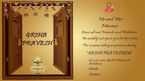 how to design a house griha pravesh invitation wordings in english how to design
