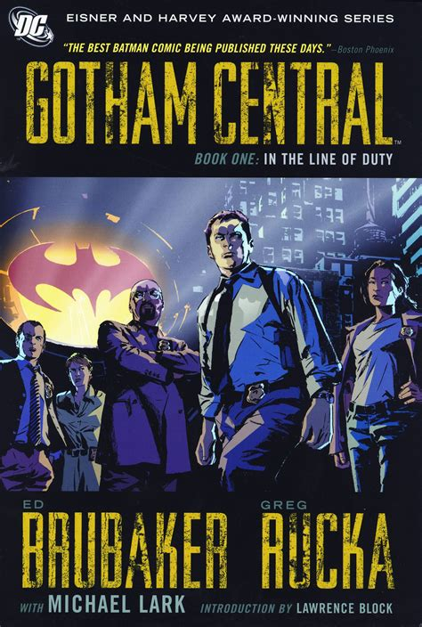 Batman City Of Crime Tp Apr060183 gotham central vol 1 in the line of duty tp