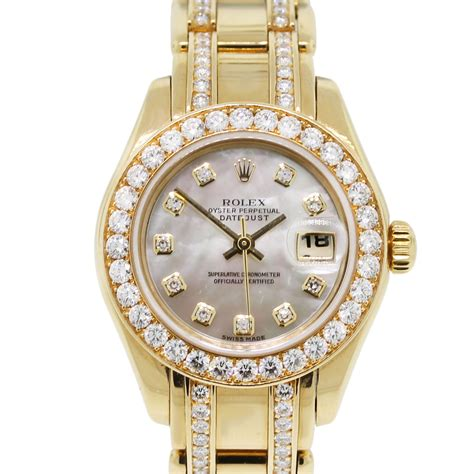 rolex watches with diamonds