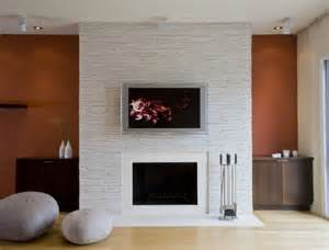 fireplace feature wall living room