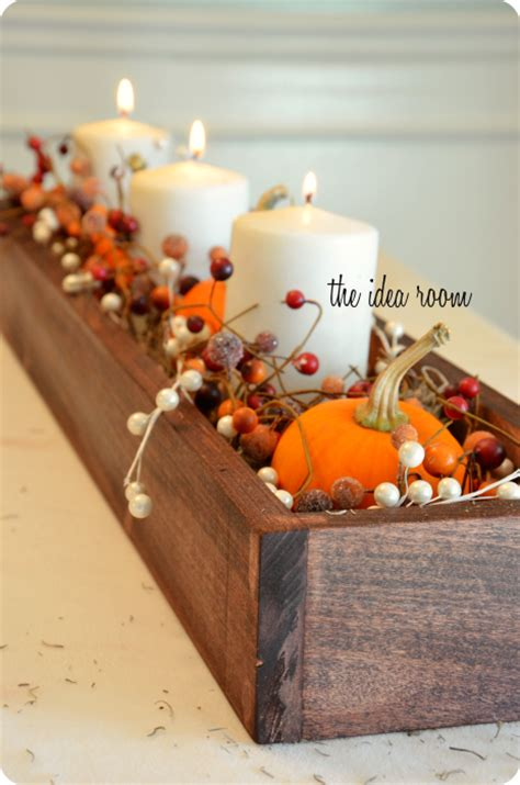 make fall decorations 35 fall table centerpieces autumn centerpiece ideas