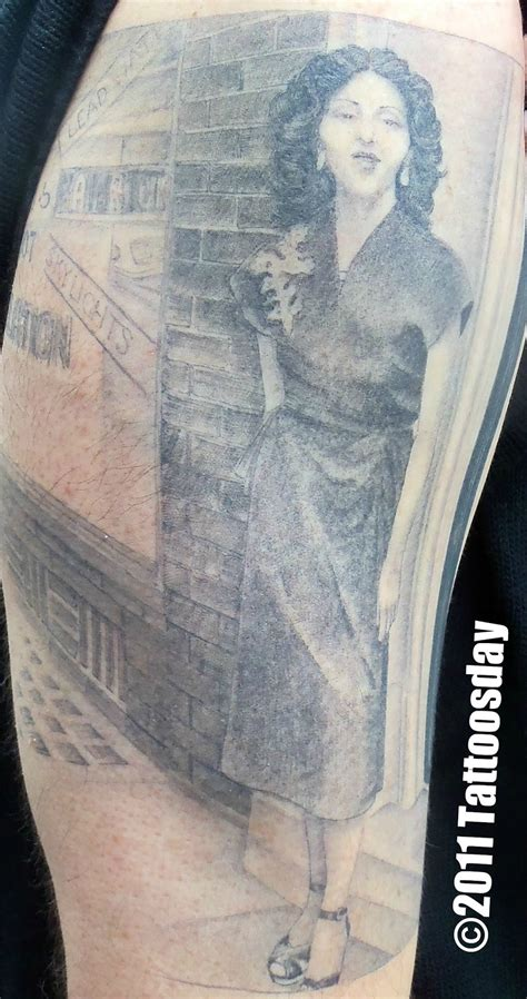 mark mahoney tattoo new design of mr kaves shares a mahoney portrait