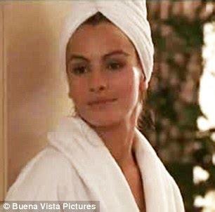 pretty woman bathtub scene emma roberts has a pretty woman moment in white bathrobe