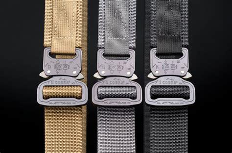 blue alpha gear gun belt   type cobra buckle