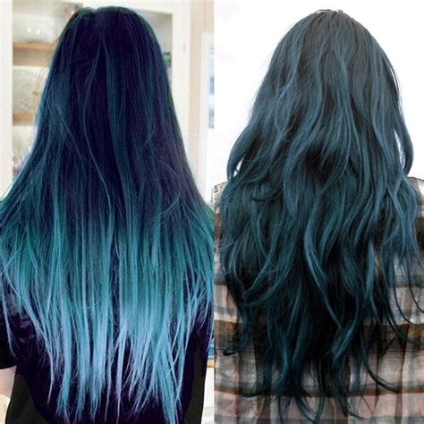 dyed hairstyles hair trends 2015 10 blue dip dye hair colors for