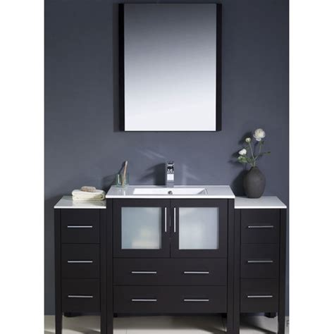 54 Vanity Cabinet by Fresca Torino 54 Quot Single Modern Bathroom Vanity Set With