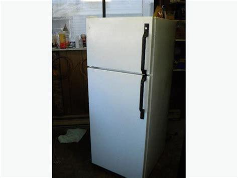 white ge 12 cu ft apartment size free refrigerator