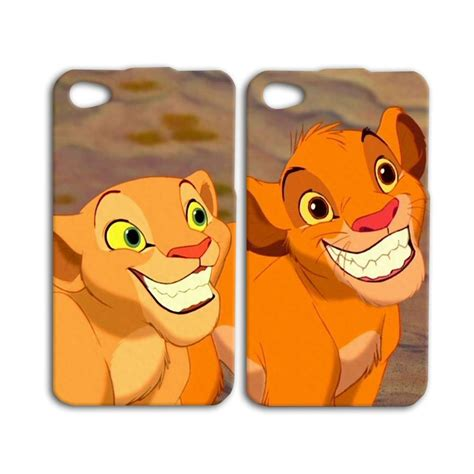 Friends Cases Transforms Your Ipod In To A Stuffed Animal by Disney King Simba Nala Ipod Cover Iphone
