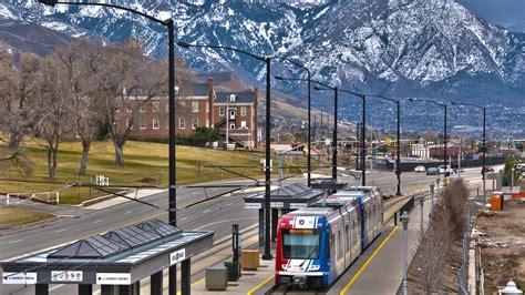 salt lake light rail system reduces vehicle traffic on