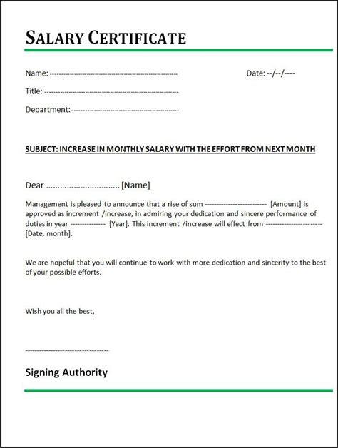 write letter pay raise sample letter
