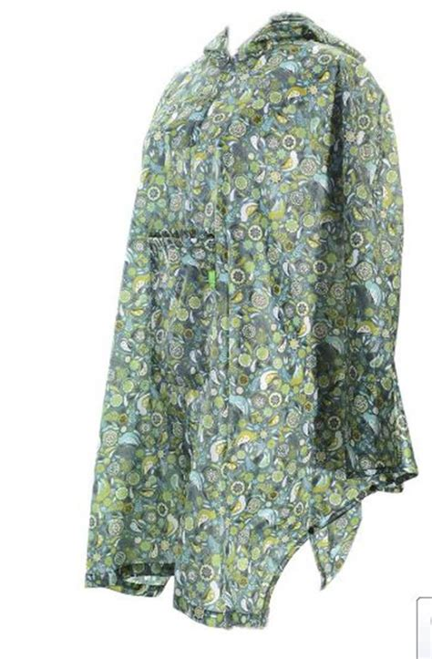 Eco Chic Fashion Ethics Show In Oxford 16 March by Womens New Eco Chic Poncho Mac In Bag Coat Cing