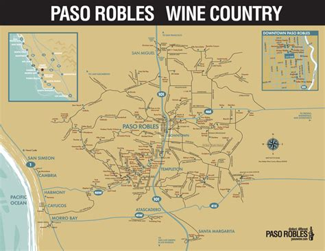 paso robles paso robles winery map my