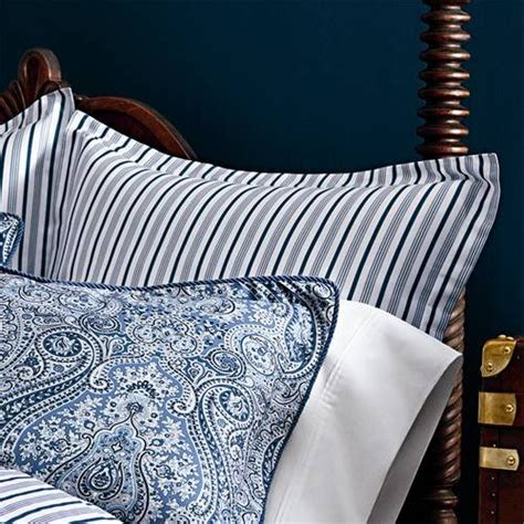 ralph blue and white comforter set by ralph townsend blue paisley 4