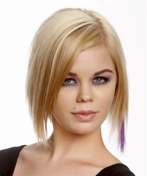 casual bob hairstyles short straight casual bob hairstyle medium blonde golden