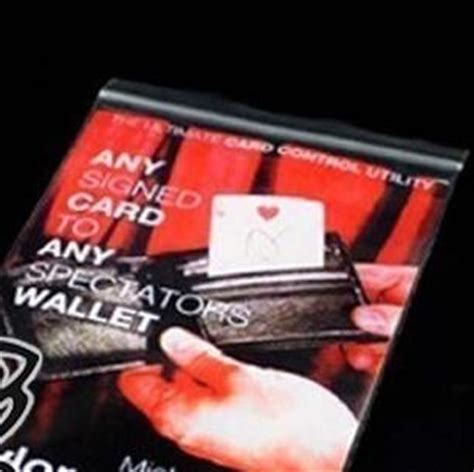 Any Card To Any Wallet any card to any spectator s wallet and