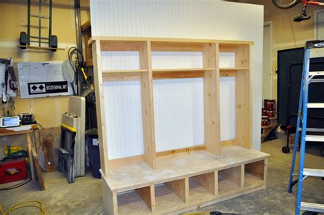How To Build A Locker Shelf by How To Build A Hutch