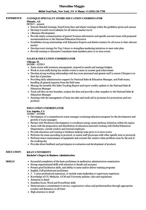 design center coordinator sle cv education coordinator images certificate