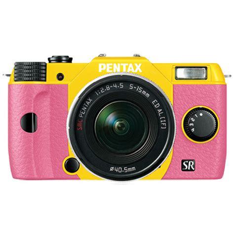 Kamera Mirrorless Pentax Q10 pentax q10 compact mirrorless with 5 15mm lens 11927 b h