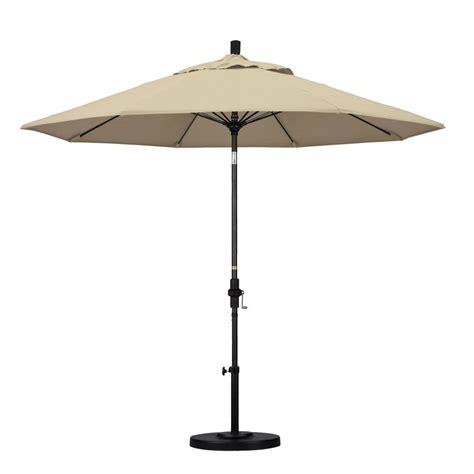 9 Patio Umbrella California Umbrella 9 Ft Fiberglass Push Tilt Patio Umbrella In Brick Polyester Alus908117 P40
