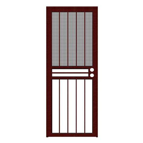 all season door and glass unique home designs 30 in x 80 in paladin wineberry