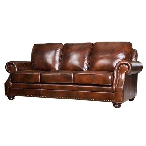 3 piece leather sofa set abbyson karington 3 piece leather sofa set in brown sk