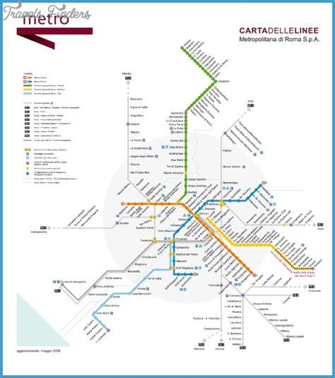 rome metro map rome metro map travelsfinders