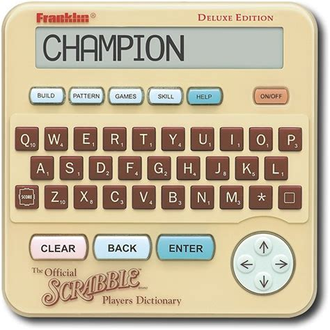 official scrabble players dictionary 4th edition franklin the official scrabble players electronic