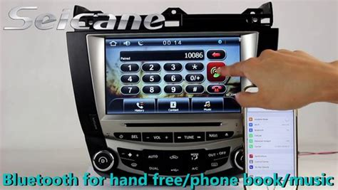 honda accord  aftermarket stereo  dash dvd player support usb sd iphoneipod