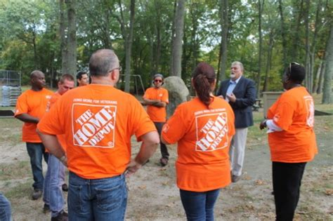 wading river park gets much needed facelift by home depot