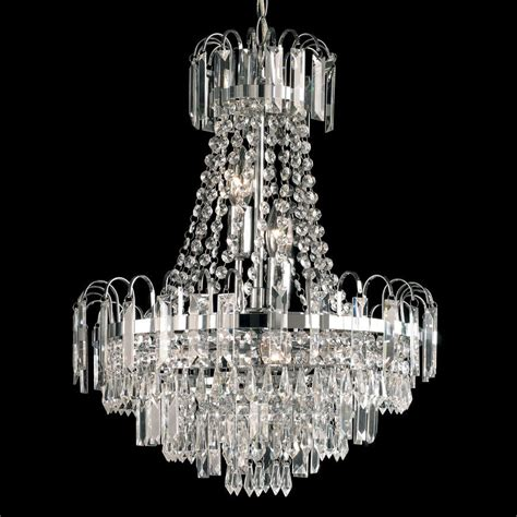 chandelier glass drops endon amadis chandelier with glass drops 6 light