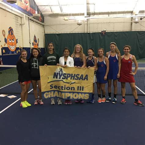section 3 tennis section iii girls tennis state qualifier results