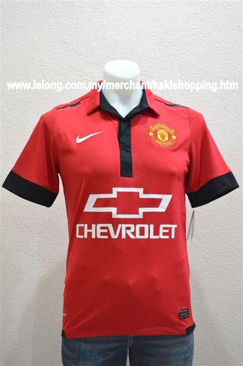 Jersey Bola Manchester United Chevrolet inikah bocoran jersey setan merah musim depan bola net