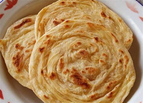 membuat roti parata india  mudah