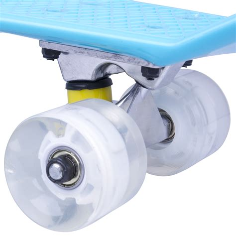 Board Light Up Wheels by Board Worker Sturgy 22 Quot With Light Up Wheels Green