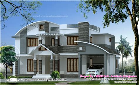 new homes styles design custom house incredible four architectural june 2013 kerala home design and floor plans