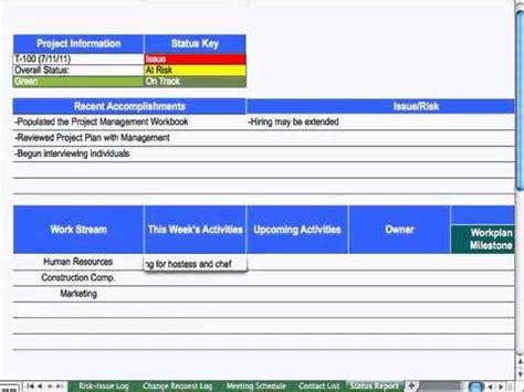 9 status report project management